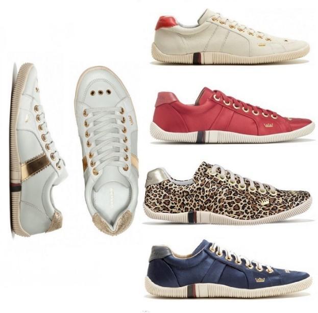 Sapatos do estilo casual ou esportivo