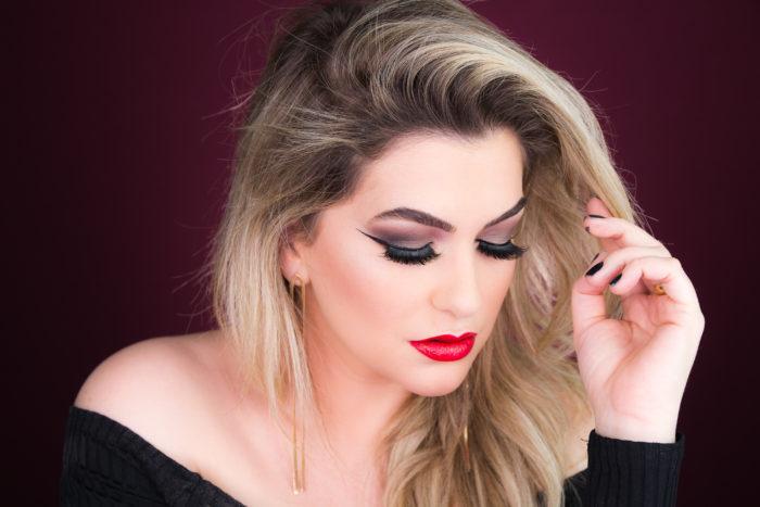 maquiagem do Estilo Sexy ou Glamouroso por alice salazer