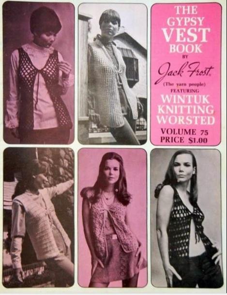 crochê anos 70