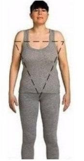 Descubra quais os decotes e acessórios para o tipo de corpo triangulo invertido Acessórios para o tipo de corpo triangulo invertido