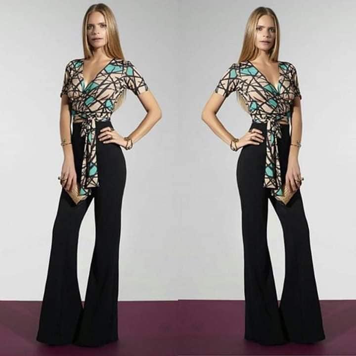 Calça preta flare e blusa estampada_stilo chic (3)