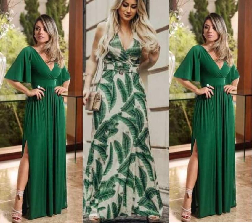 Qual a mensagem que a cor verde transmite na escolha do look