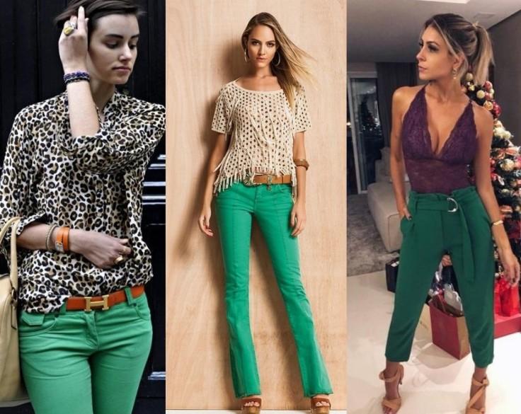 look verde com calça (1)