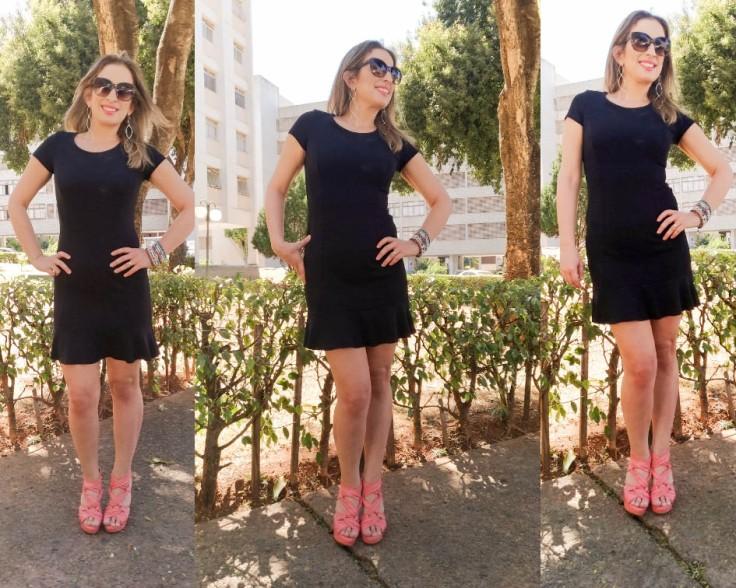 vestido preto e acessorios coloridos (2)