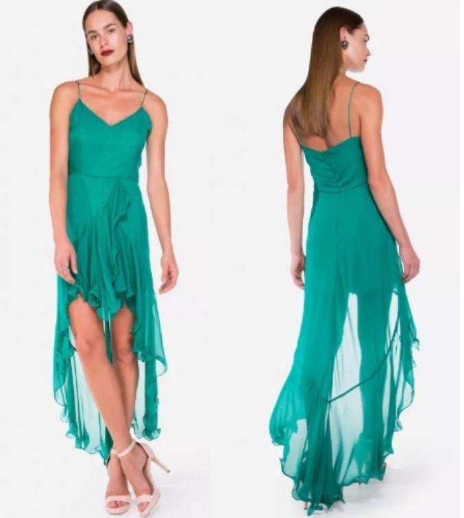 Vestido verde_Amaro