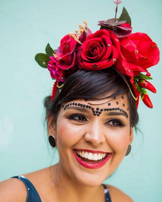 Fantasias carnaval 2019. Tema: frida kahlo.