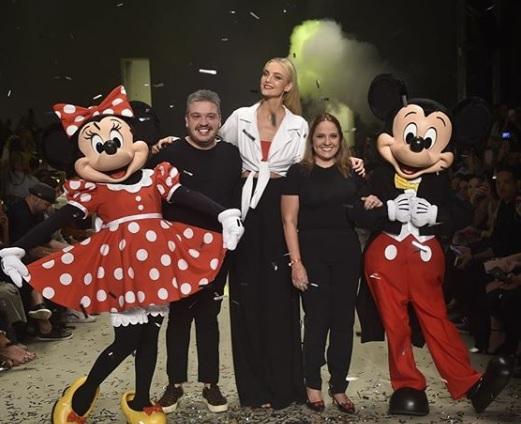 Desfile Água de Coco SPFW N 46 - Homenagem aos 90 anos do Mickey Mouse