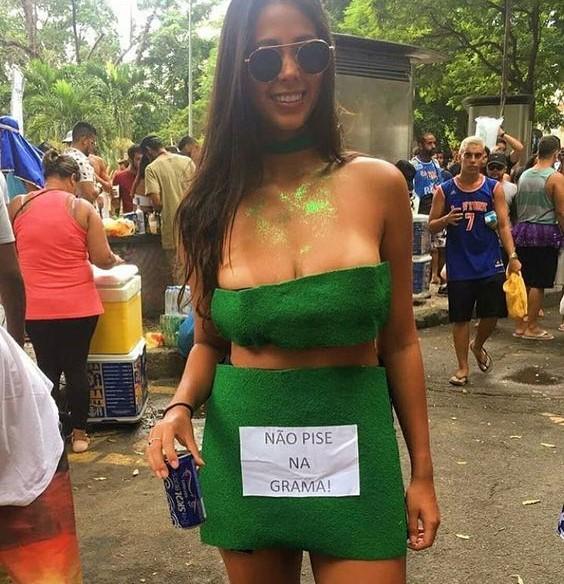Fantasias carnaval 2019. Tema: criativo