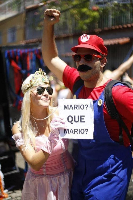 Fantasias carnaval 2019. Tema: criativo Fonte: Pinterest