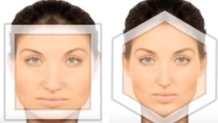 Formato de rosto do colérico