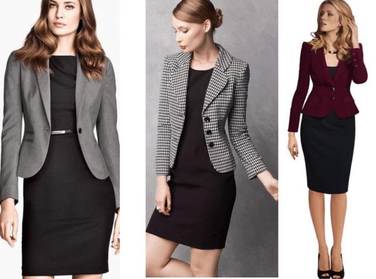 como usar vestido preto básico para o trabalho