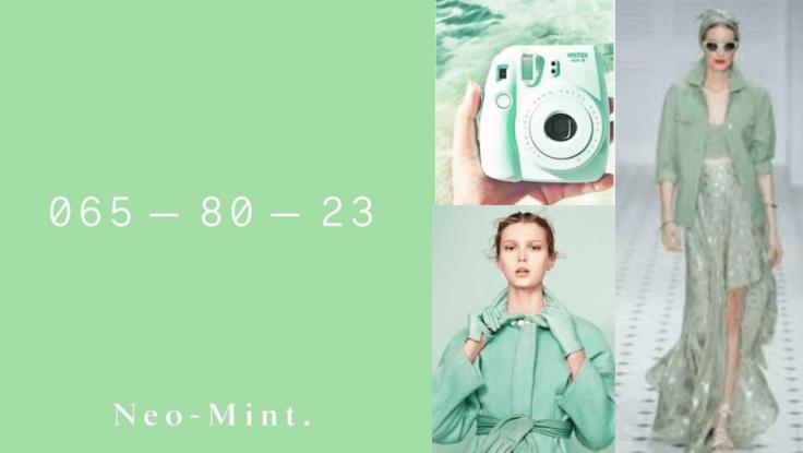 As cores que serão tendência para 2020 - Neo mint