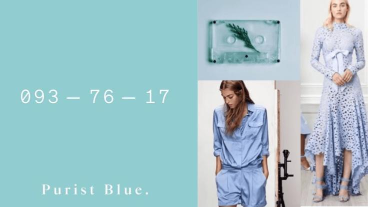 As cores que serão tendência para 2020 - Purist blue